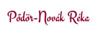 Pődör-Novák Réka dietetikus Logo